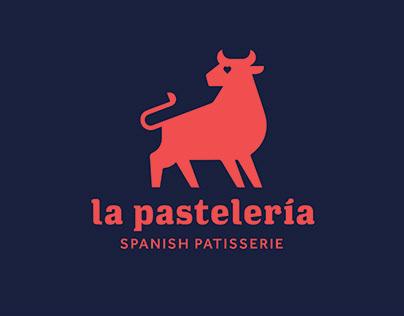 La Pastelería branding