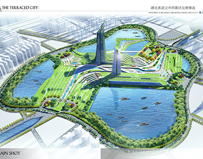 Graduation Project. The Terraced City, Wuhan, China.