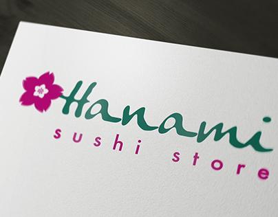 Branding - Hanami Sushi Store
