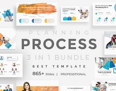 Planning Process Bundle Powerpoint
