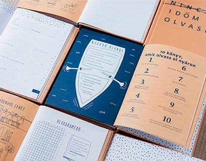 Van időm olvasni - book design and illustrations