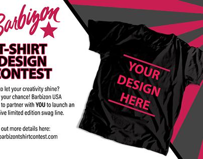 Barbizon T Shirt Contest