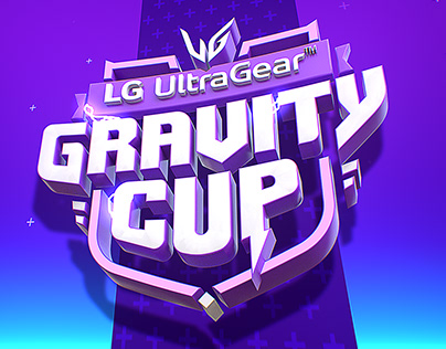 LG UltraGear - Gravity Cup - Logo Design + Animation