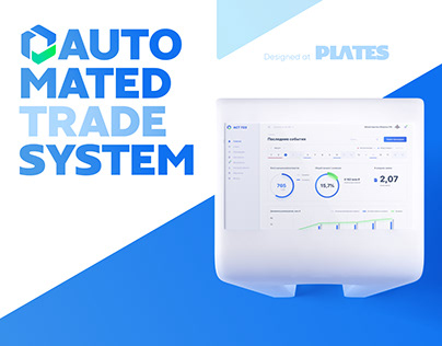 Automated Trade System – UI Design & Animation