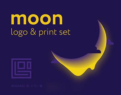 Moon. Logo & Print set © 2018 - 2019