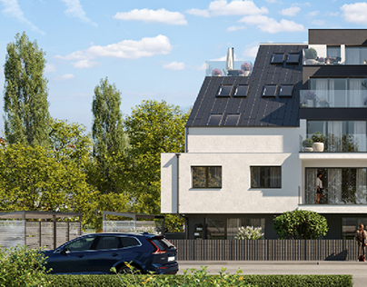 Residential project in Vienna.