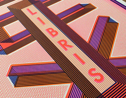 EX LIBRIS / risograph prints