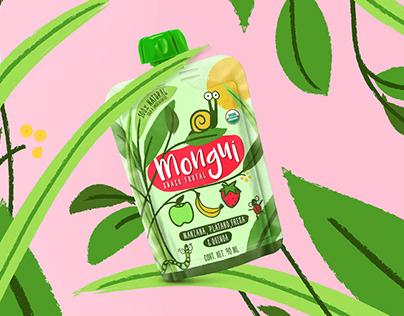 Mongui Fruit Snacks Packaging