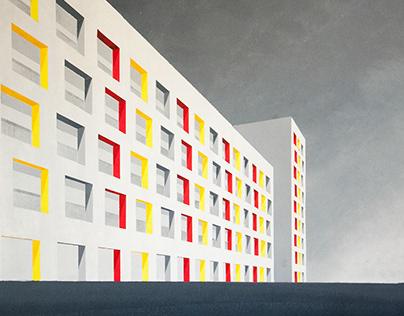 City Block by Vistula