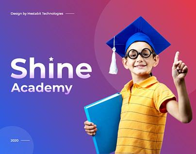 Shine Academy- Website Design