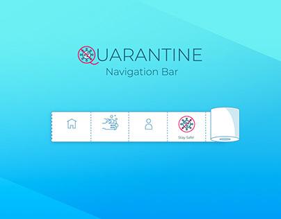 Quarantine - Navigation Bar