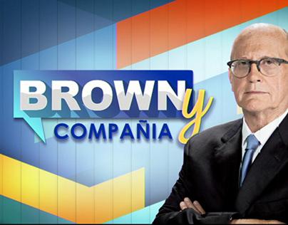 Graphics Package for TV Show-Ricardo Brown & Compania