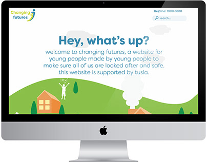 Changing Futures: Website Design & Development