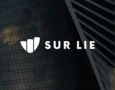 Sur lie — logo design —