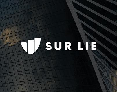 Sur lie — logo design —