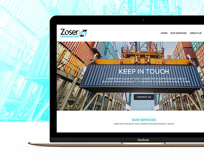 Zoser international trade | UI/UX Design