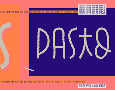 Pasto — typeface