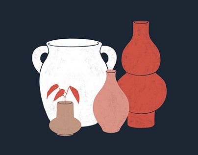 Vase Collection — Illustrations