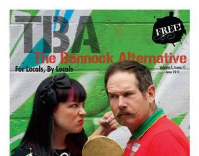 The Bannock Alternative | Cover art and layout
