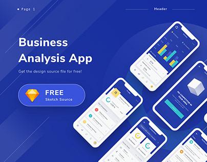 Business Analysis app ( FREE SOURCE )