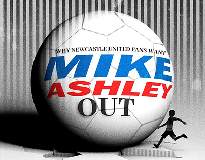 Editorial Illustration - Mike Ashley Out!