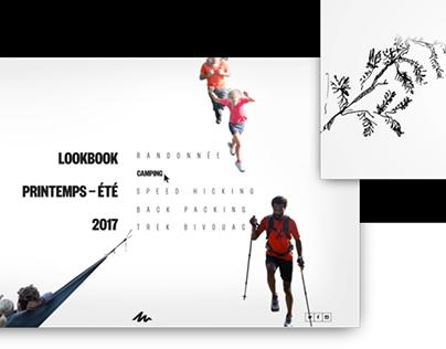 Queshua — Lookbook website