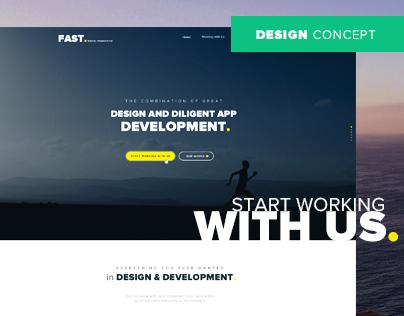 Fast Digital Production - Web Design