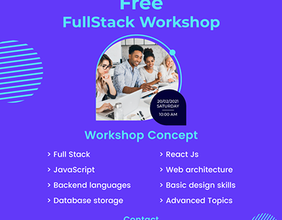 Less than 24 hrs to go for free full-stack workshop
