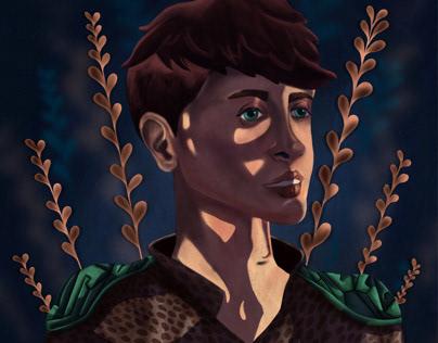 Slavic Boy Illustration