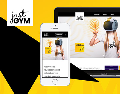 Just GYM 1.1 | Website