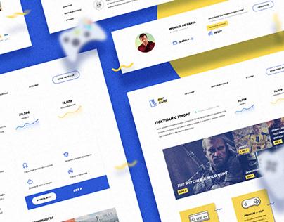 PureGame / Gaming E-Commerce