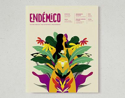 Endémico magazine cover