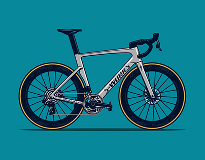 Bold Bicycle Illustrations