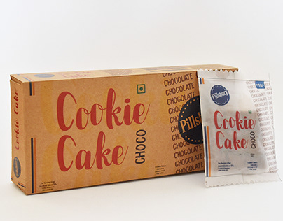 Typographical Pacakging (Pillsbury Cookie cake)