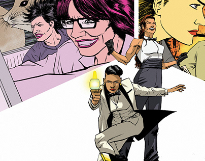 Jill Trent: Science Sleuth 1 Preview (2015)
