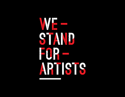 Redbubble We Stand For Artists Brand