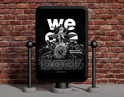 Poster | We are back