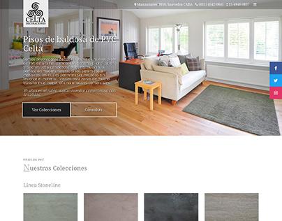 Celta Decoración - Landing Page responsive