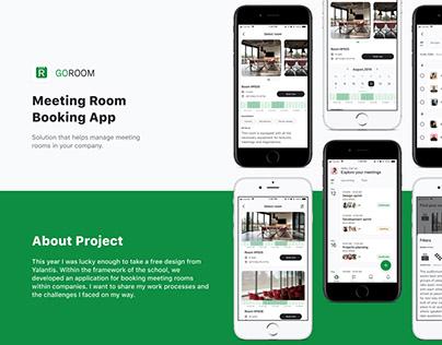 Meeting Room Booking App