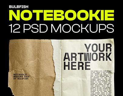 Notebookie - Mockups Pack