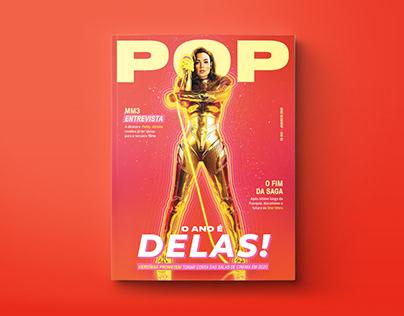 """POP I Revista fictícia   """"O ano é delas!"""""""