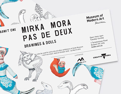 Mirka Mora: Pas de Deux—Drawings and Dolls