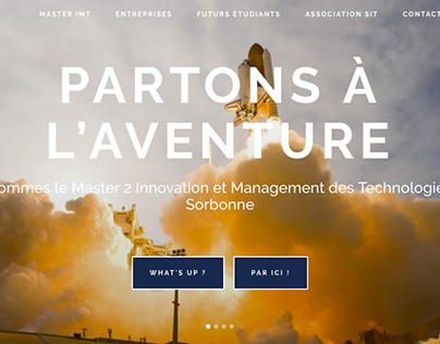 Website - Sorbonne Innovation et Technologies