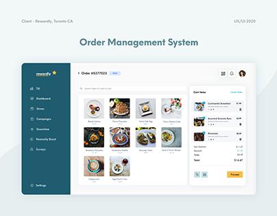 Order Management Till Dashboard | Merchant App | UX UI