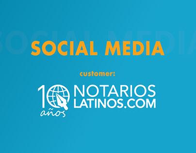 Notarios Latinos - Social media