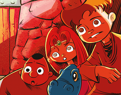 Meninos & Dragões – comic book