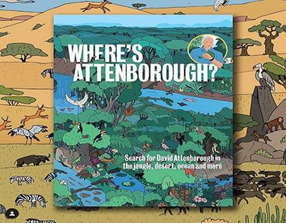 Where's Attenborough? | Artist:Maxim Usik