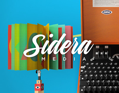 Sidera Media | Branding - Web Site