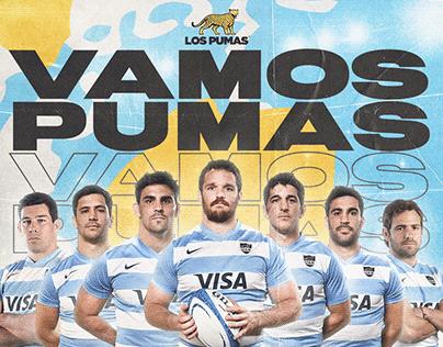 kick off LOS PUMAS - UAR Rugby