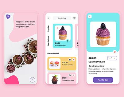 Custom Designed Cake Order App